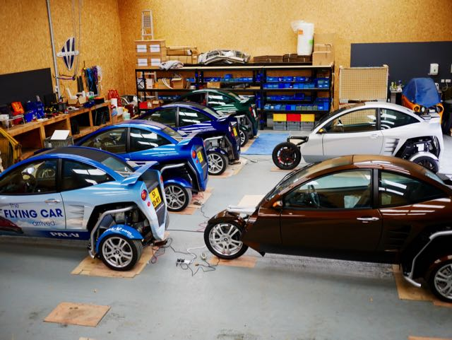 Six Carver Ones in Club Carver Parts and Service workshop